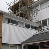 Cladding and scaffold